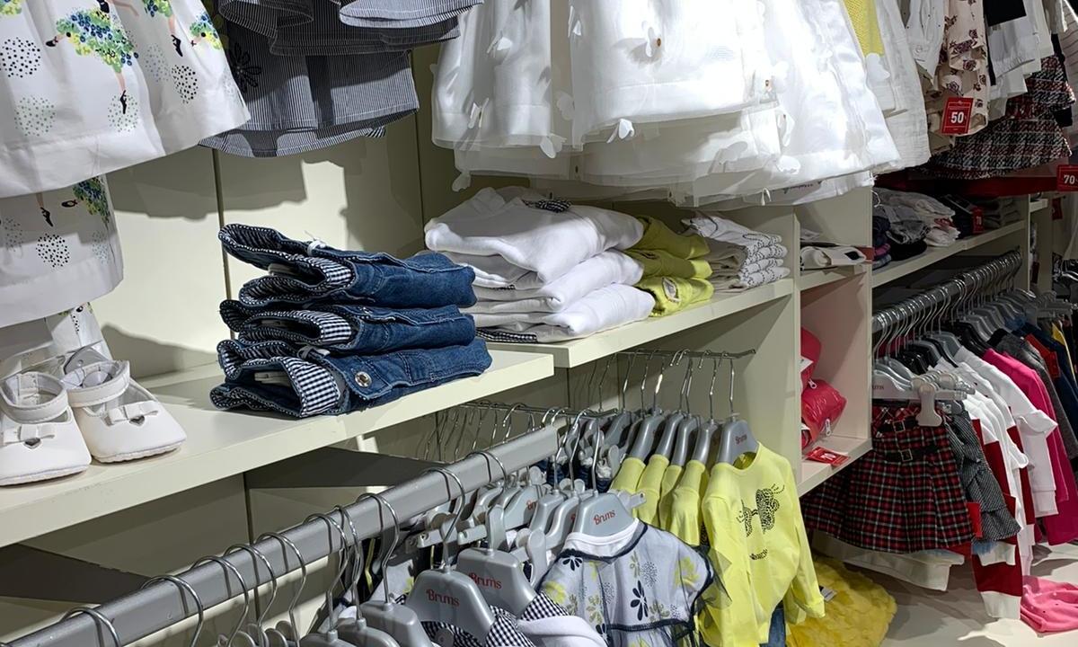 Guardaroba e shopping per bambini